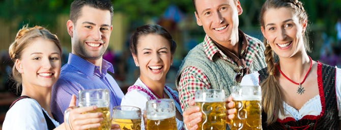 San Francisco Events - Oktoberfest by the Bay - Beer, Brats & Bands