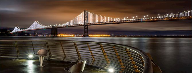 Bay Bridge Ilumination