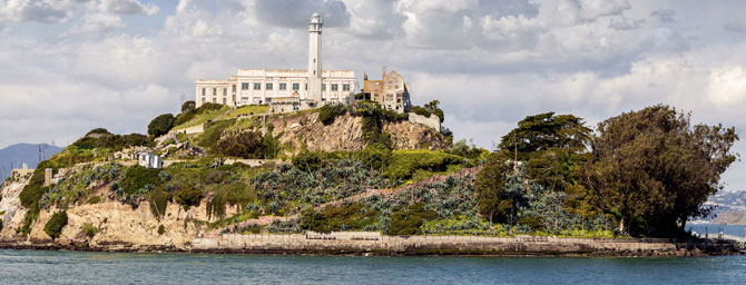 Alcatraz Island on San Francisco