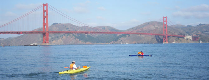 Kayaking in San Francisco
