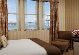 Bay View Room in Hotel Griffon - A Greystone Hotel San, Francisco