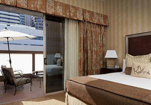 City View King Suite at Hotel Griffon - A Greystone Hotel San, Francisco