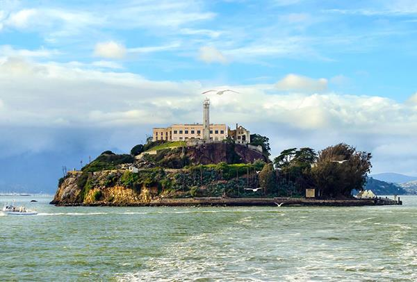 Alcatraz Island in San Francisco